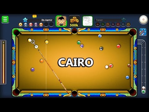 8 Ball Pool Cairo Kasbah 250K w Potter Cue No Guidelines