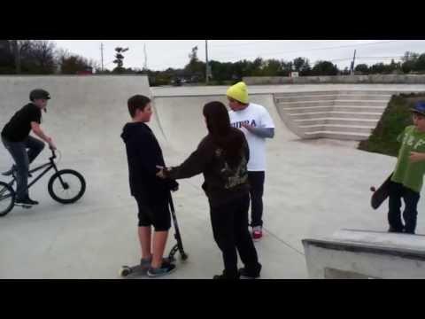 Skater vs. Mom