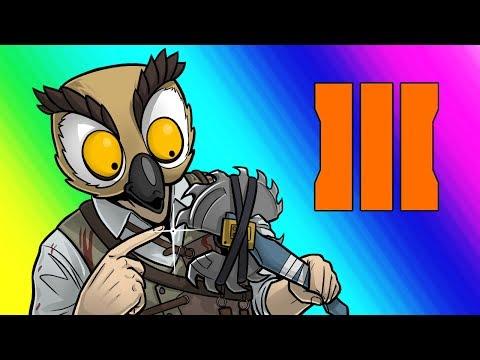 Black Ops 3 Zombies Funny Moments Terroriser Buttahfly Knife