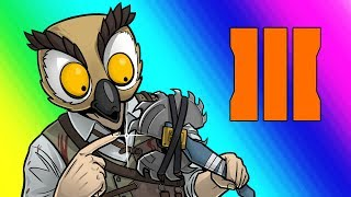 Black Ops 3 Zombies Funny Moments - Terroriser Buttahfly Knife!