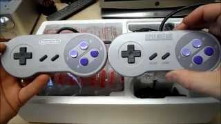 Model 2 mini SNES Super Nintendo unboxing review