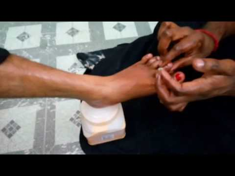 Super Relaxing Foot Massage Techniques by Raj /ASMR  Relax-1