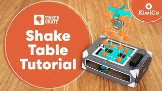 Make an Earthquake Shake Table - Tinker Crate