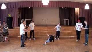 Lasna B-Boys perfomance - выступление в Ласнамяэской Русской гимназии (48 школа)