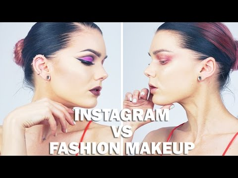 Instagram VS Fashion Makeup | Linda Hallberg Tutorial