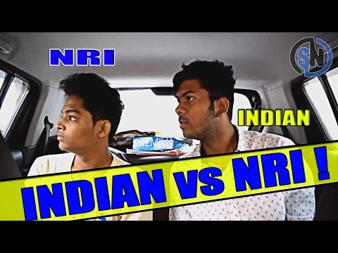 INDIAN vs NRI  || Social niggas ||