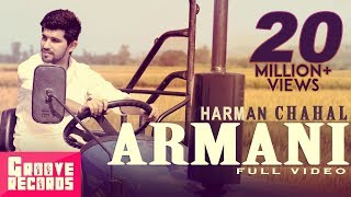 Armani | Harman Chahal | Mr VGrooves | Full Video | New Punjabi Song