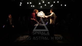 BASS ASTRAL x IGO live act | SPIRALA BOJLERUM