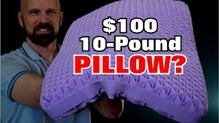 Purple Pillow Review: A 10-Pound $100 Pillow?