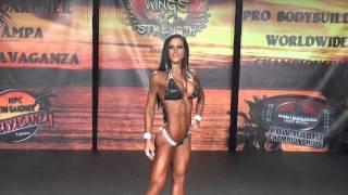 Anita Herbert Absoluta Bikini NPC Tampa Bay Pro Am Show 2015