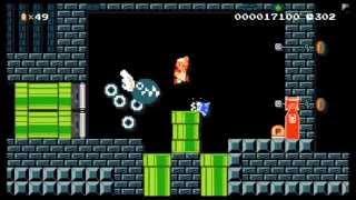 Super Mario Maker: Snake Man's Stage (Mega Man 3)