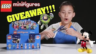 LEGO DISNEY MINIFIGURES!!! PART 5 - Minifigure GIVEAWAY!!!