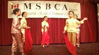 MSBCA CNY 2013 scarf dance