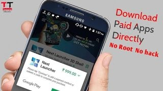 How to Download Paid Apps Directly From PlayStore In Hindi