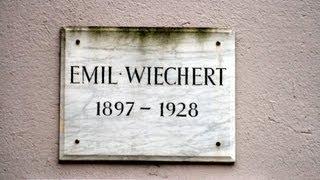 🔴 Emil Wiechert • Geophysiker • 1897 - 1928 • Herzberger Landstraße 180 - Göttinger Gedenktafel ...