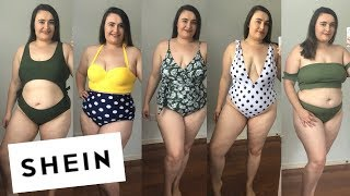 SHEIN PLUS SIZE TRY ON HAUL- $6 SWIMSUIT!!- HOT OR NOT??