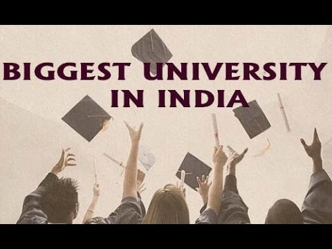 India's Biggest Universities by Campus Size 2016-17