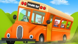 Wheels On The Bus | Nursery Rhymes | Kids Song | Baby Rhyme By Junior Squad