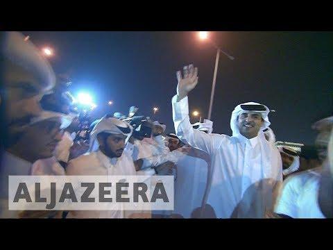 Xxx Mp4 🇶🇦 Thousands Celebrate Sheikh Tamim Homecoming In Qatar Al Jazeera English 3gp Sex