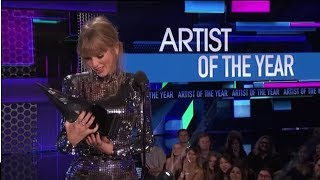 Taylor Swift Wins Artist of the Year - AMAs 2018