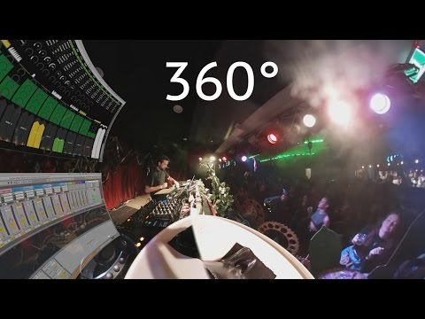 Tom Cosm Live at Psyfari After Party 2016 (360°)