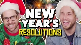 2018 NEW YEARS RESOLUTIONS (The Show w/ No Name)