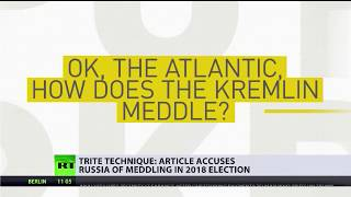 Article accuses Russia of meddling in 2018 election