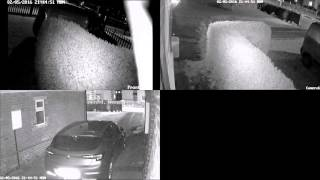 Sonic Boom 02.05.2016 Doncaster CCTV with SOUND Actual Recording South Yorkshire Leeds 2016 Reaction