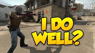CSGO COMPETITIVE - THE ONE TIME I DO WELL!