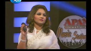 Premero Chotto Ekti Ghor by Raja Bashir & Dithi Anwar on RTV LIVE