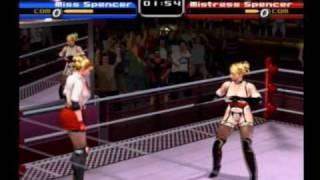 Rumble Roses - Miss Spencer VS Mistress Spencer(Normal Computer Original)