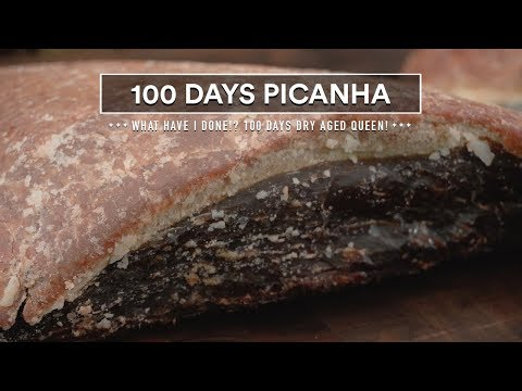 100 Days DRY AGED PICANHA Experiment