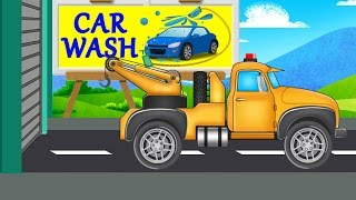 Tow Truck | Car Wash | Video For Kids | Cartoon Car for kids