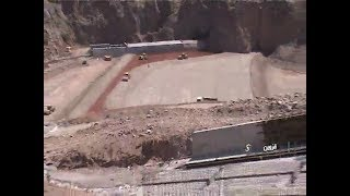 Iran Bala-Khanlou Hydro Dam under construction سد بالاخانلو دردست ساخت قزوين ايران