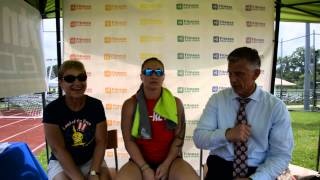 Fitness Edge Media Interview with Krys Young and her mom at The Catalyst Games