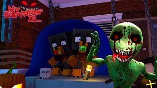Minecraft MY BABYSITTER IS.......... DAME TU COSITA.EXE!!!!