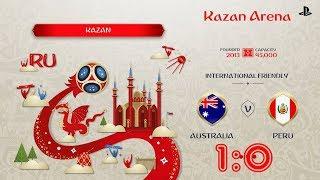 Australia - Peru,  FIFA 18 World Cup 2018 Russia Prediction Games (Group C)