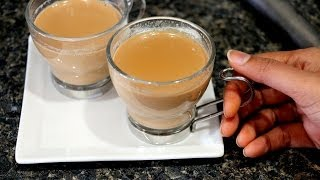 Indian Tea/ Chai - Ginger and Cardamom Tea Recipe