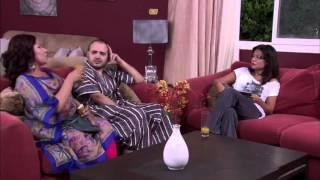 """نونة المأذونة - إيمان السيد وأحمد ثابت في مشهد كوميدي """" ياساتر شايلة اللوز والبلعوم مع بعض"""""""