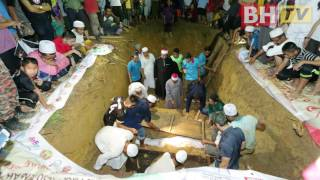 3 jenazah pelajar tahfiz selamat dikebumikan