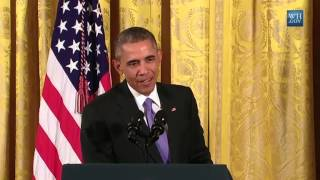 President Obama slams reporter for disrespectful question