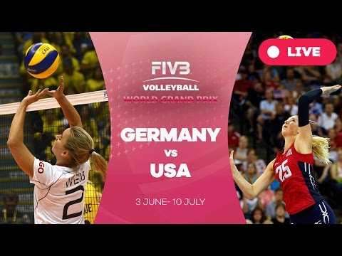 watch Germany v United States - Group 1: 2016 FIVB Volleyball World Grand Prix