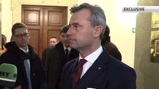 Anti-Russian sanctions not useful, have to end them – Austrian pres candidate Hofer (EXCLUSIVE)