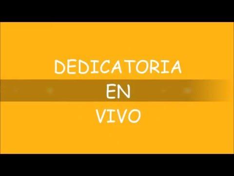 DEDICATORIA EN VIVO - COOL TV