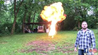 DIY With Uncle Rob - Best Explosion Compilation