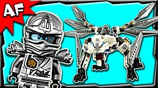Lego Ninjago Zane's TITANIUM DRAGON 70748 Anacondrai Jungle Stop Motion Build Review