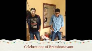 Bramhotsavam maheshbabu dance steps celebrations