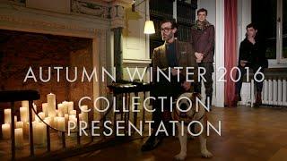 dunhill London - Autumn Winter 2016 Collection Presentation