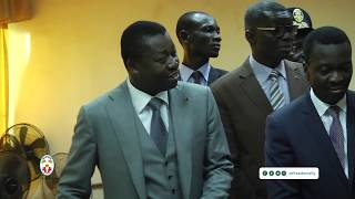 Visite surprise du chef de l'Etat SEM Faure E. GNASSINGBE à la frontière d'aflao