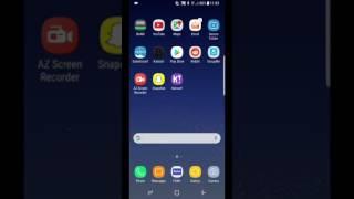 Samsung Galaxy S8 Tutorial- Full Screen Apps